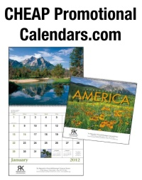 Cheap Promotional Calendars